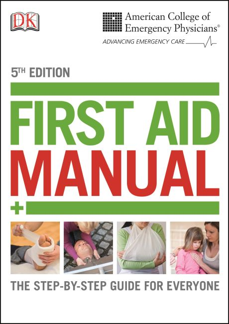 Paperback cover of ACEP First Aid Manual 5th Edition