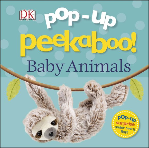 Board book cover of Pop-Up Peekaboo! Baby Animals