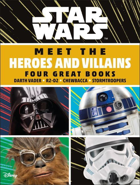 Boxed Set cover of Star Wars Meet the Heroes and Villains Boxset
