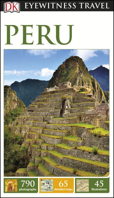 Paperback cover of DK Eyewitness Travel Guide Peru