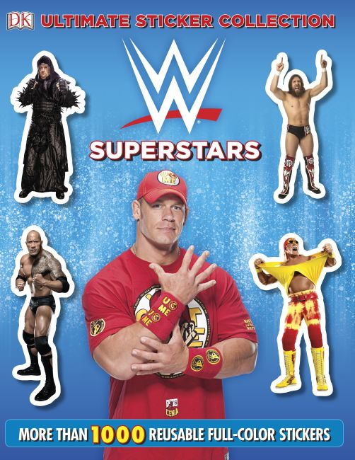 Paperback cover of Ultimate Sticker Collection:  WWE Superstars