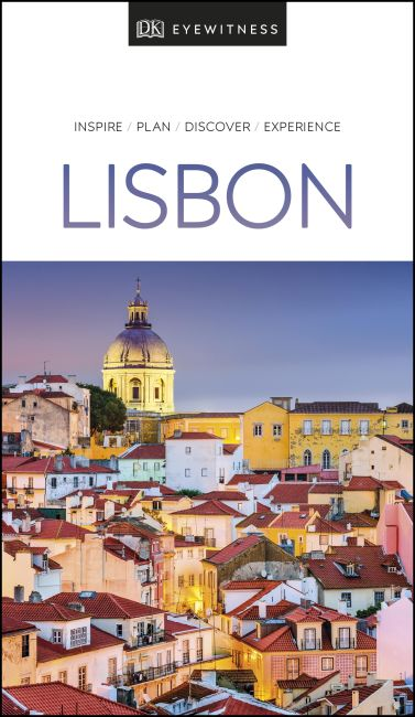 Paperback cover of DK Eyewitness Travel Guide Lisbon