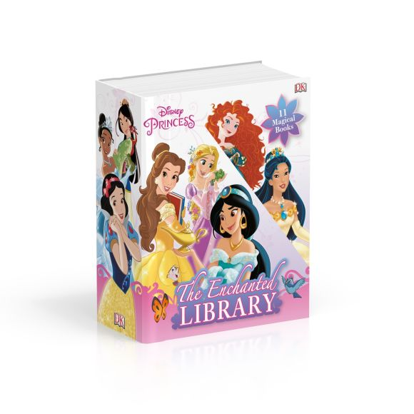 Slipcase of Editions cover of Disney Princess The Enchanted Library Slipcase