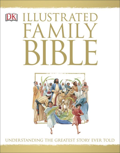 Hardback cover of Illustrated Family Bible