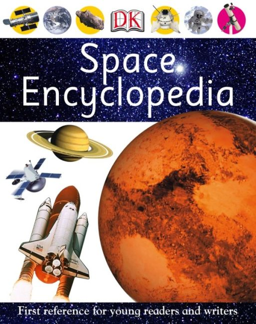 eBook cover of Space Encyclopedia
