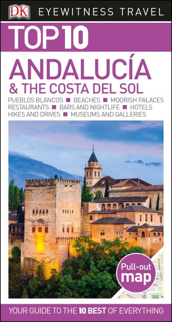 Paperback cover of Top 10 Andalucía and the Costa del Sol
