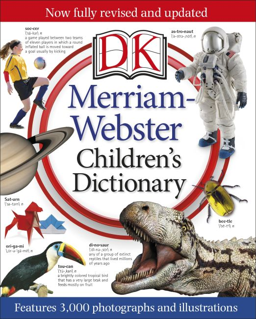 Hardback cover of Merriam-Webster Children's Dictionary