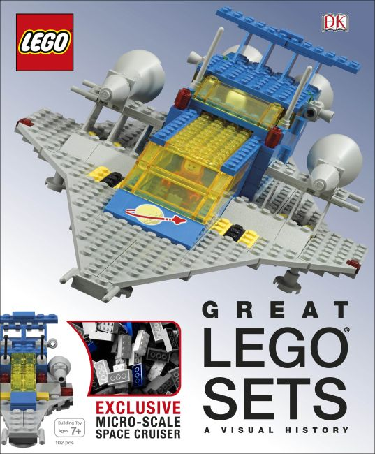 Hardback cover of Great LEGO Sets: A Visual History