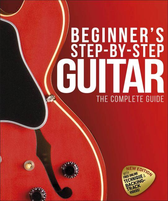 Hardback cover of Beginner's Step-by-Step Guitar