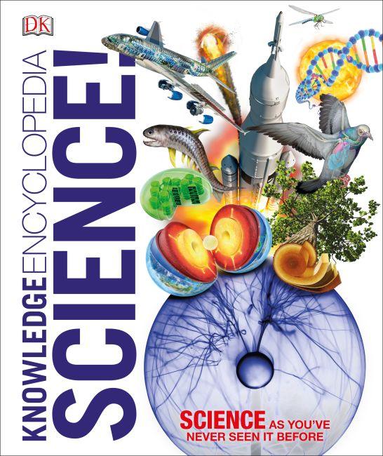 Hardback cover of Knowledge Encyclopedia Science!
