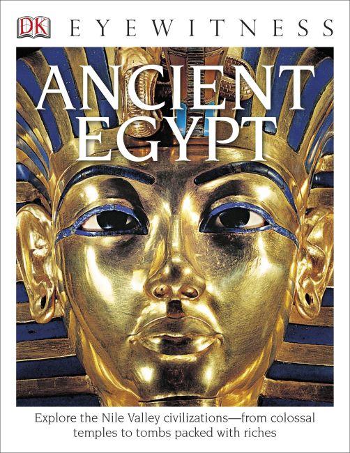 Hardback cover of DK Eyewitness Books: Ancient Egypt
