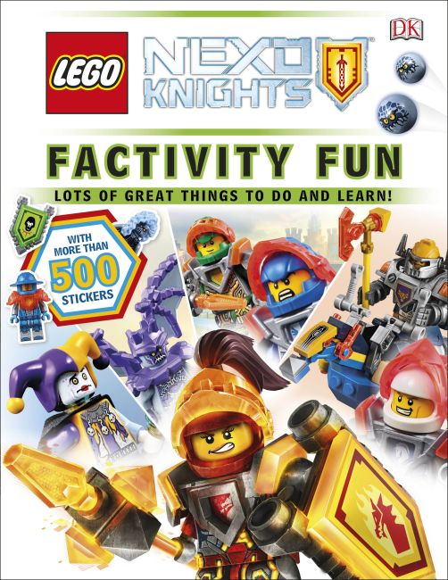 Paperback cover of Factivity Fun: LEGO® NEXO KNIGHTS