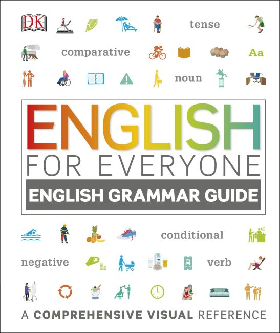 Hardback cover of English for Everyone: English Grammar Guide