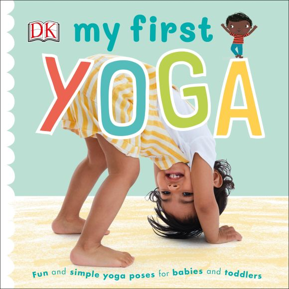 Board book cover of My First Yoga