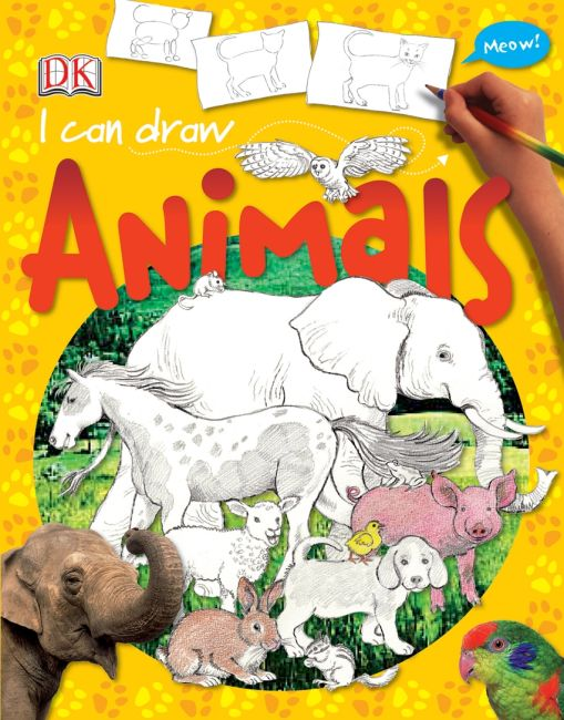 eBook cover of I Can Draw Animals