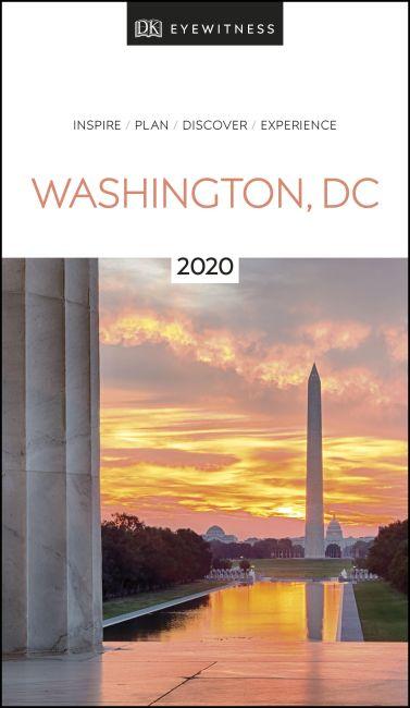 Paperback cover of DK Eyewitness Washington, DC