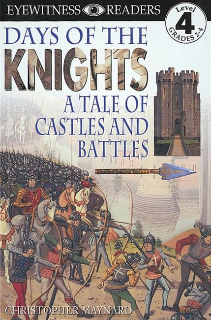 Paperback cover of DK Readers L4: Days of the Knights