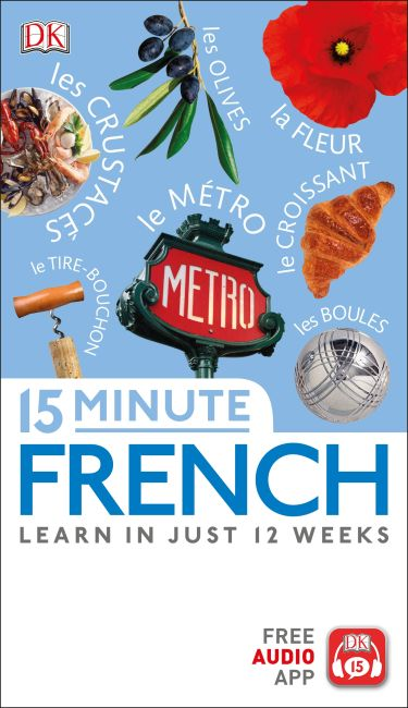 Paperback cover of 15 Minute French