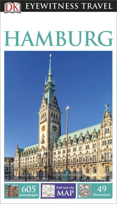 Flexibound cover of DK Eyewitness Travel Guide Hamburg