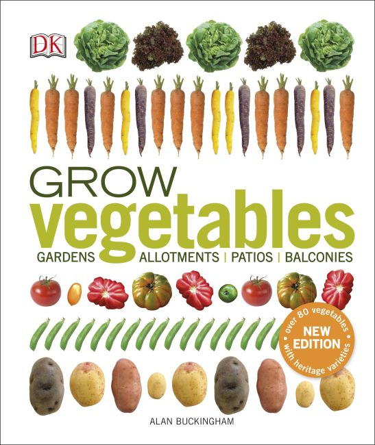 Hardback cover of Grow Vegetables