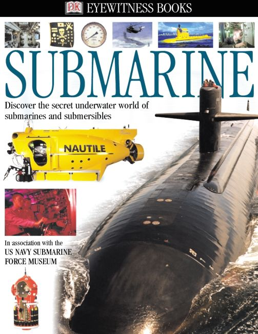 eBook cover of DK Eyewitness Books: Submarine