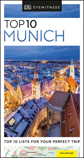 Paperback cover of DK Eyewitness Top 10 Munich