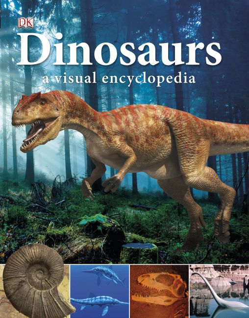Paperback cover of Dinosaurs: A Visual Encyclopedia