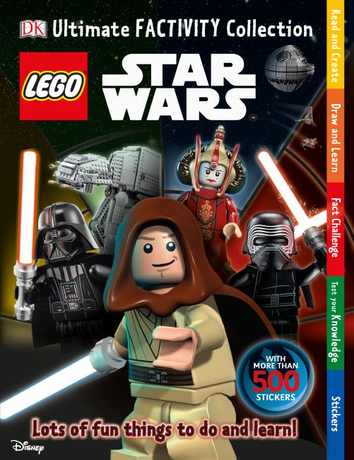 Paperback cover of Ultimate Factivity Collection: LEGO Star Wars