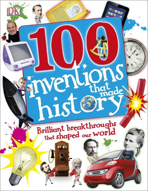 Hardback cover of 100 Invents That Made History