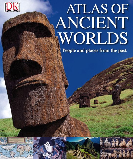 eBook cover of Atlas of Ancient Worlds