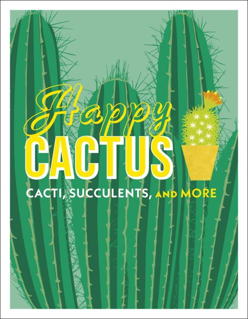 Hardback cover of Happy Cactus