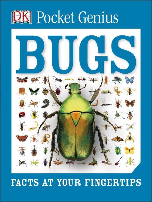 Paperback cover of Pocket Genius: Bugs