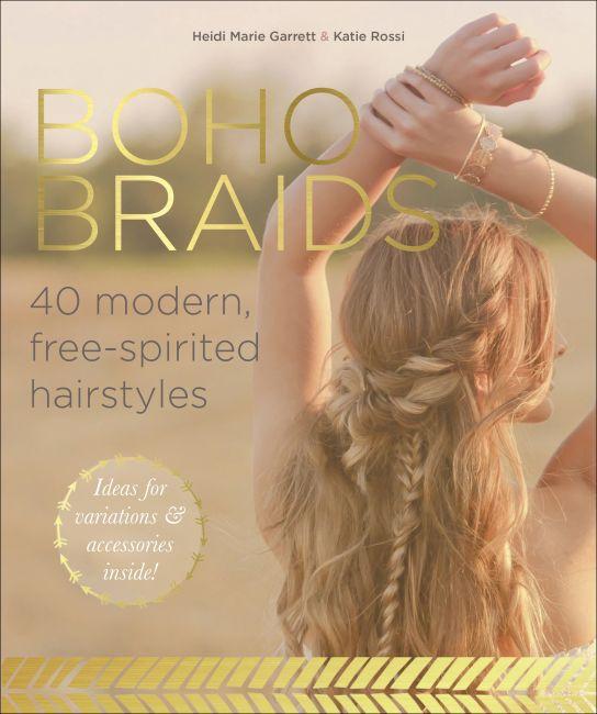 Paperback cover of Boho Braids