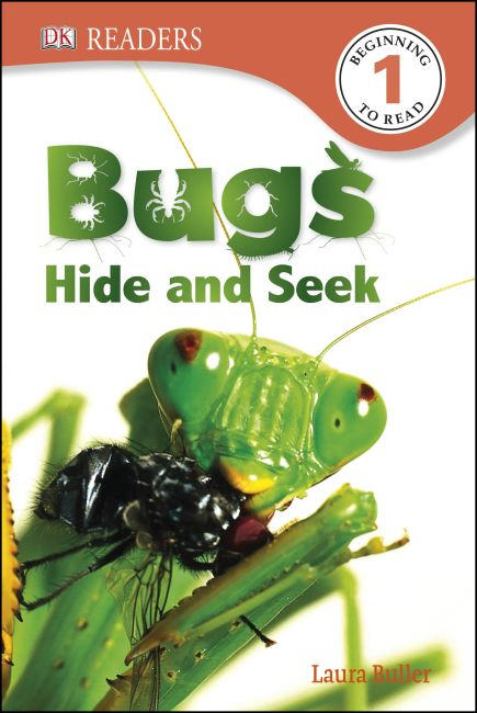 Hardback cover of DK Readers L1: Bugs Hide and Seek