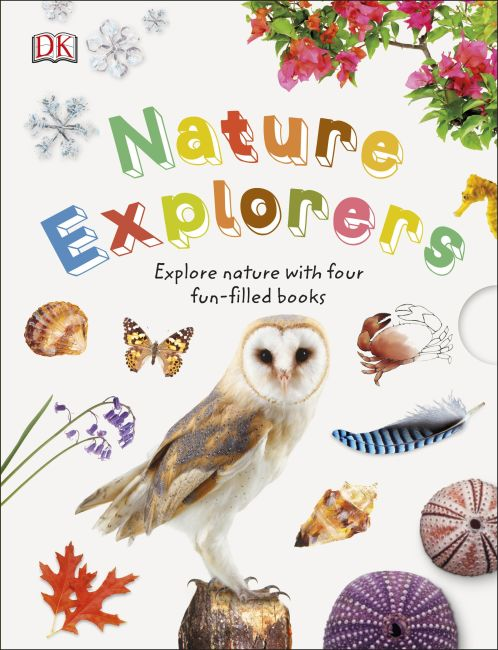 Slipcase of Editions cover of Nature Explorer Box Set