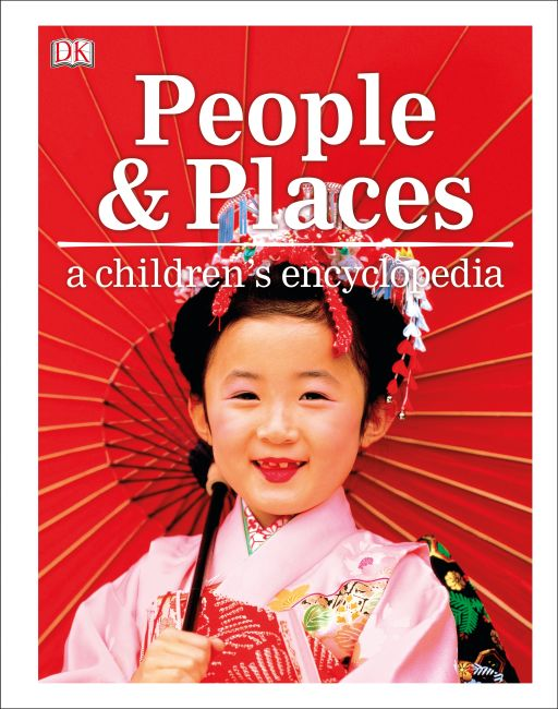 Hardback cover of People and Places A Children's Encyclopedia