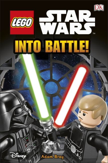 Hardback cover of LEGO® Star Wars Into Battle