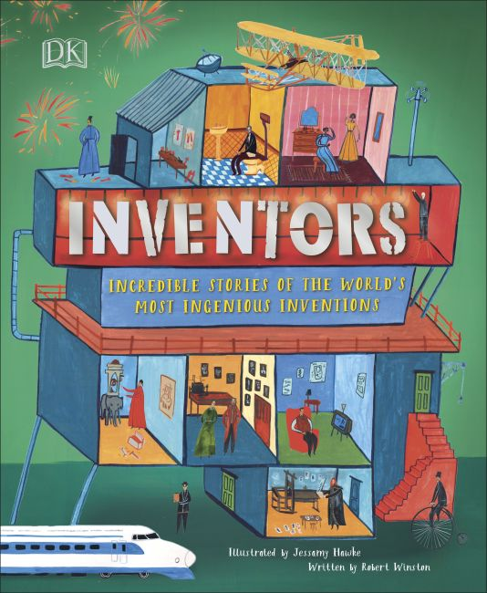 Hardback cover of Inventors