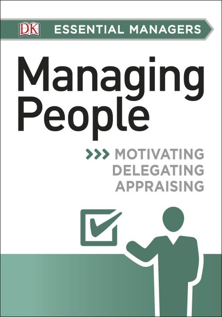 Paperback cover of DK Essential Managers: Managing People