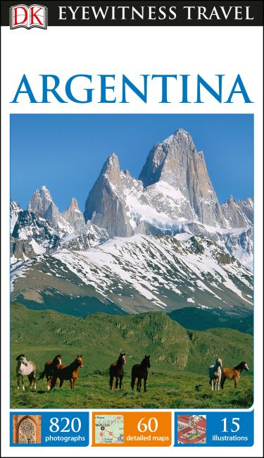 Flexibound cover of DK Eyewitness Travel Guide Argentina