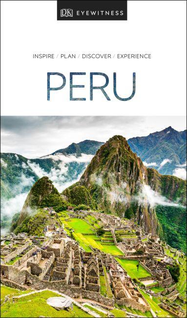 Paperback cover of DK Eyewitness Travel Guide Peru