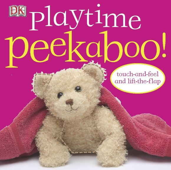 Board book cover of Playtime Peekaboo!