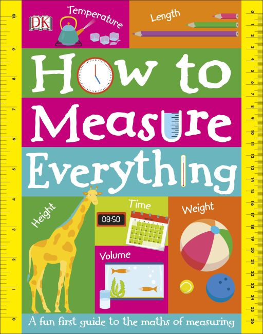 Board book cover of How to Measure Everything