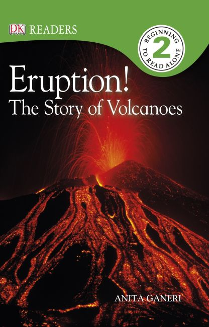 eBook cover of Eruption! The Story of Volcanoes