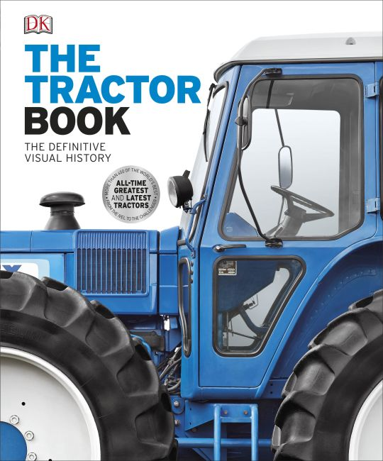 Hardback cover of The Tractor Book