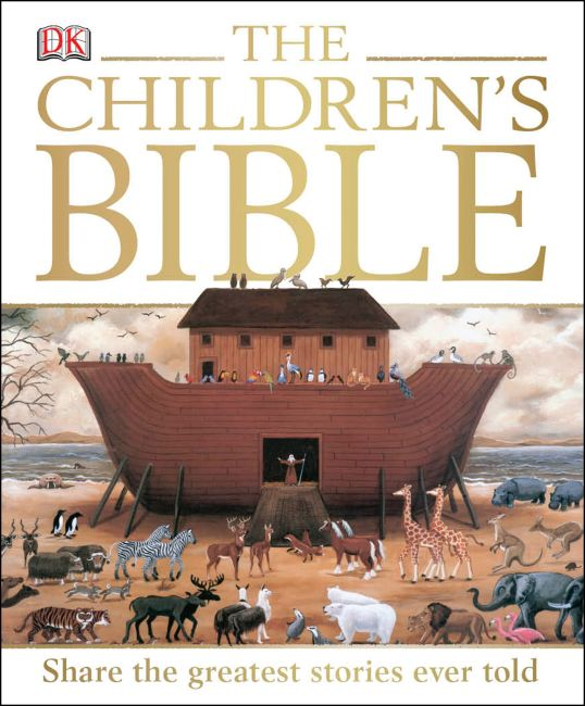 Hardback cover of The Children's Bible