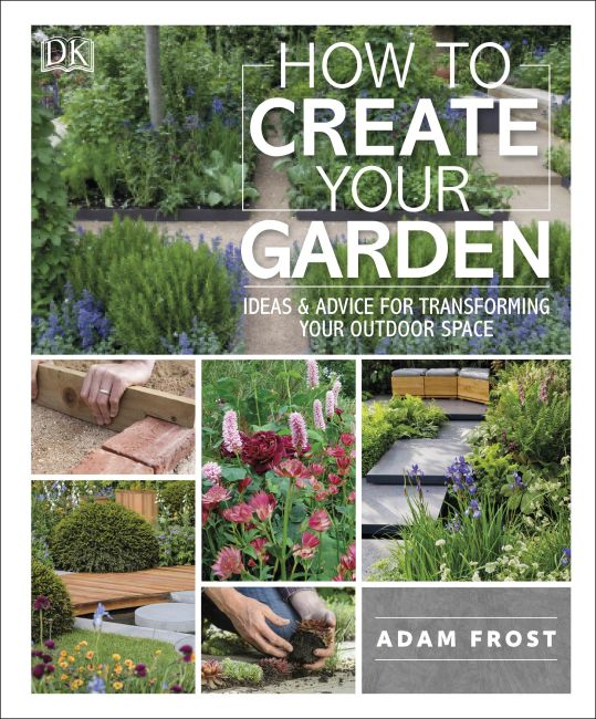 Paperback cover of How to Create Your Garden