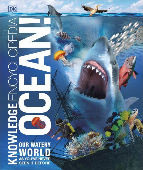 Hardback cover of Knowledge Encyclopedia Ocean!