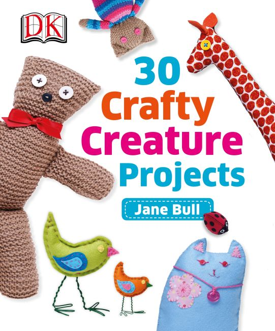 eBook cover of 30 Crafty Creature Projects