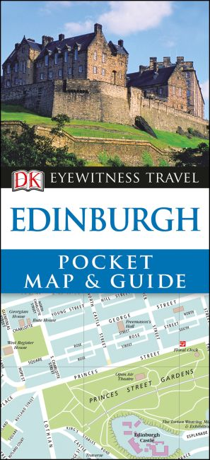 Paperback cover of Edinburgh Pocket Map and Guide